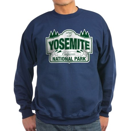 Yosemite Green Sign Sweatshirt (dark)