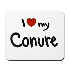 Conure Love Mousepad