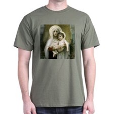 Madonna of the Roses T-Shirts