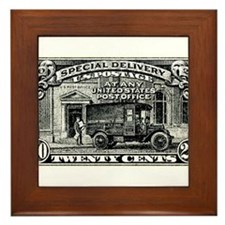 1925 United States Special Delivery Stamp Framed T