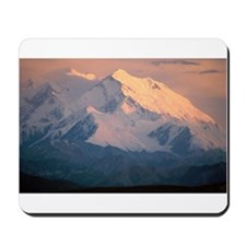 Denali Alpenglow Mountain Mousepad