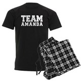 TEAM AMANDA pajamas