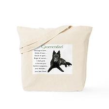 Groenendael Belgian Sheepdog Tote Bag