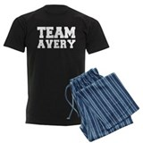 TEAM AVERY pajamas