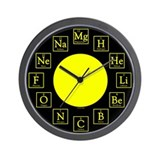 Unique Chemistry Wall Clock