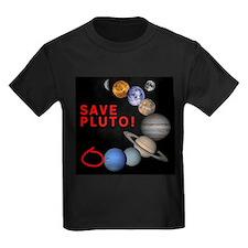 Save Pluto! Ash Grey T-Shirt T-Shirt
