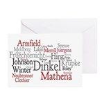 Paula's Personalized Greeting Cards (Pk of 10)
