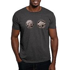 Silver Indian-Buffalo T-Shirt
