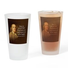 Unique Founding father quote Drinking Glass