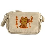 Samurai Cat Messenger Bag