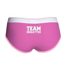 TEAM DEMATTEO Women's Boy Brief