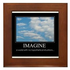 Imagine Framed Tile