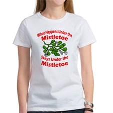 Under the Mistletoe Tee