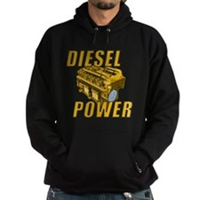 Diesel Engine Power Hoodie