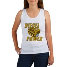 Diesel Engine Power Women's Tank Top