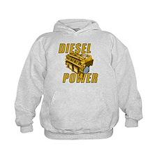 Diesel Engine Power Hoodie