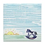 Rocking Horses Art Tile
