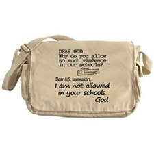 Dear God Messenger Bag