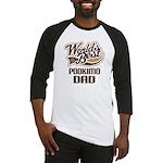 Pookimo Dog Dad Baseball Jersey