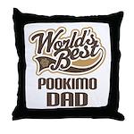 Pookimo Dog Dad Throw Pillow