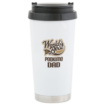 Pookimo Dog Dad Ceramic Travel Mug