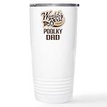 Poolky Dog Dad Ceramic Travel Mug