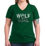 wolf-girl-darks T-Shirt