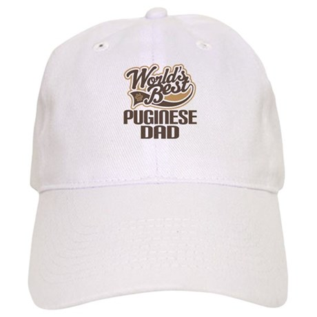 Puginese Dog Dad Cap