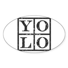 Yolo Distressed Decal