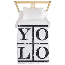Yolo Distressed Twin Duvet