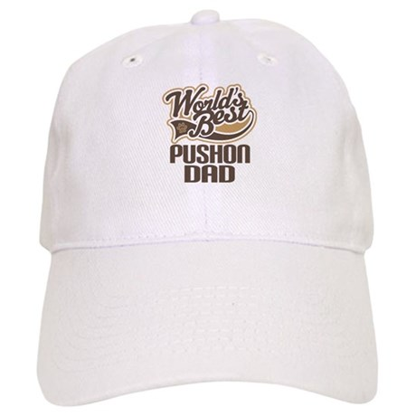 Pushon Dog Dad Cap
