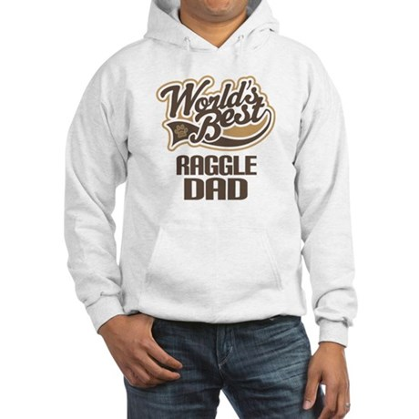 Raggle Dog Dad Hooded Sweatshirt