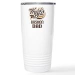 Rashon Dog Dad Ceramic Travel Mug