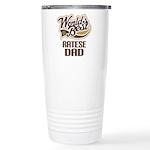 Ratese Dog Dad Ceramic Travel Mug