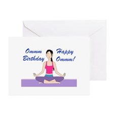 Yoga Birthday Card Greeting Cards (Pk of 20)