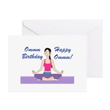 Yoga Birthday Card Greeting Cards (Pk of 10)