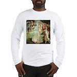 Birth of Venus Botticelli Long Sleeve T-Shirt