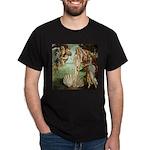 Birth of Venus Botticelli Dark T-Shirt