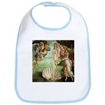 Birth of Venus Botticelli Bib