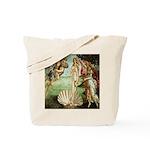 Birth of Venus Botticelli Tote Bag