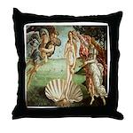 Birth of Venus Botticelli Throw Pillow