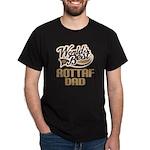 Rottaf Dog Dad Dark T-Shirt
