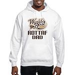 Rottaf Dog Dad Hooded Sweatshirt