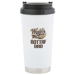 Rottaf Dog Dad Ceramic Travel Mug