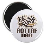 Rottaf Dog Dad Magnet
