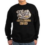 Rotterman Dog Dad Sweatshirt (dark)