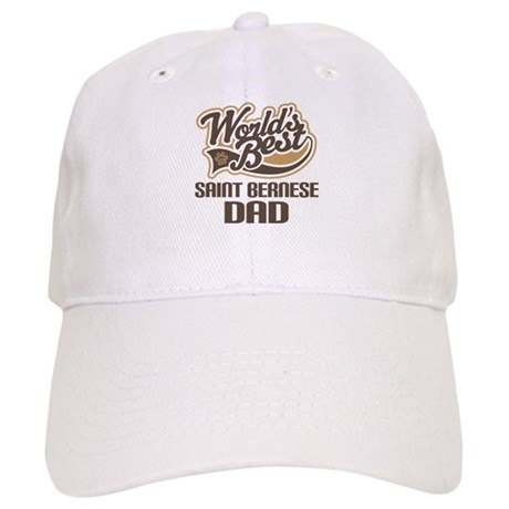 Saint Bernese Dog Dad Cap