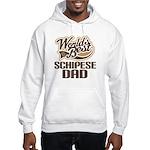 Schipese Dog Dad Hooded Sweatshirt