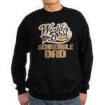 Schneagle Dog Dad Sweatshirt (dark)