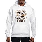 Schneagle Dog Dad Hooded Sweatshirt